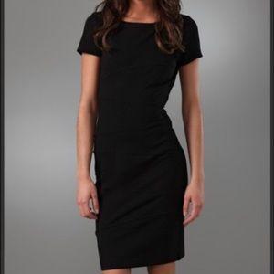 Diane Von Furstenberg Trapp Black Dress